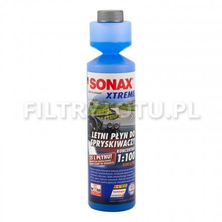 SONAX Xtreme Letni płyn do spryskiwaczy Koncentrat 1:100 NanoPro 250ml (271141)