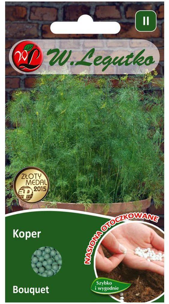 Koper ogrodowy BOUQUET nasiona otoczkowane 300 szt. W. LEGUTKO