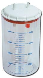 GIMA pojemnik 4L z pokrywą do ssaka CLINIC/HOSPITAL, CLINIC PLUS, HOSPI PLUS Akcesoria do ssaka