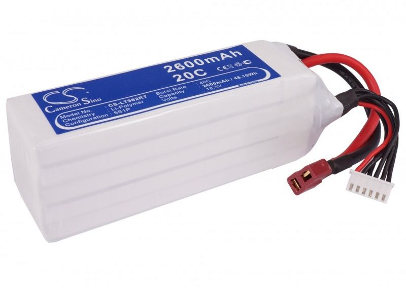 2600mAh 48.10Wh Li-Polymer 18.5V 5S 20C (Cameron Sino)