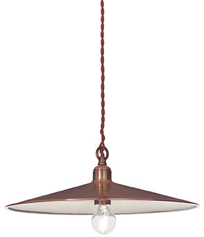 Lampa wisząca Cantina SP1 Big 112732 Ideal Lux klasyczna oprawa w kolorze miedzi