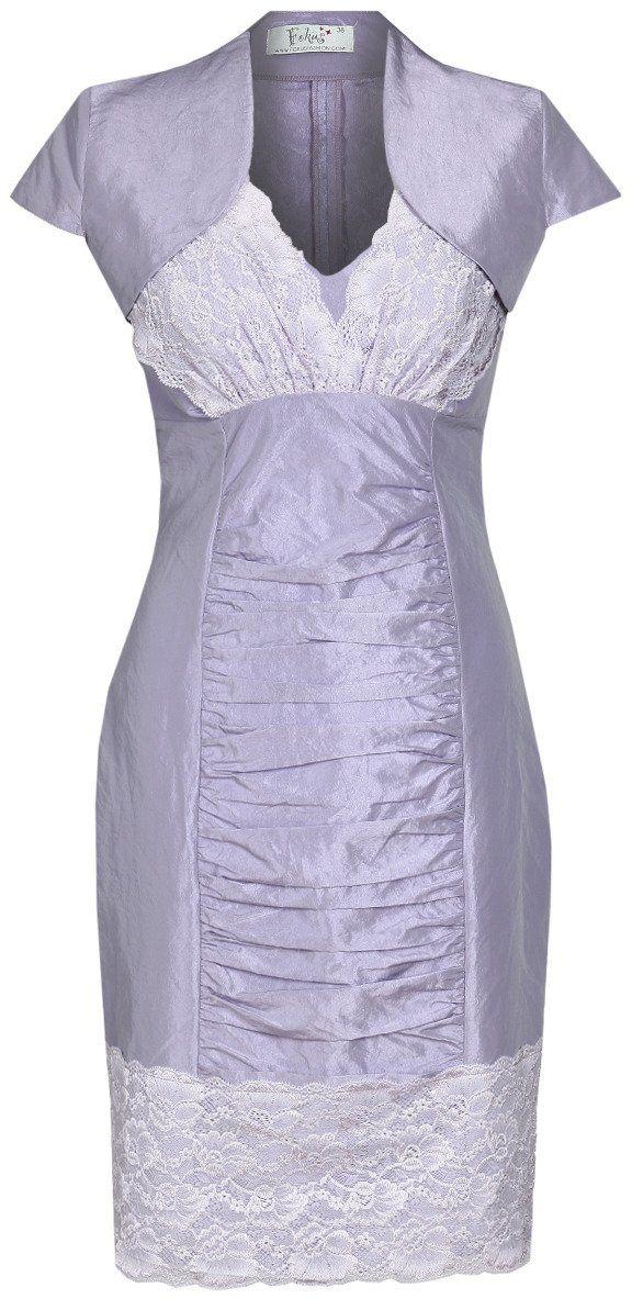 Sukienka FSU178 FIOLETOWY