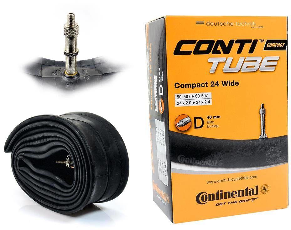 Dętka Continental Compact 24'' x 2,0'' - 2,4'' wentyl dunlop 40 mm