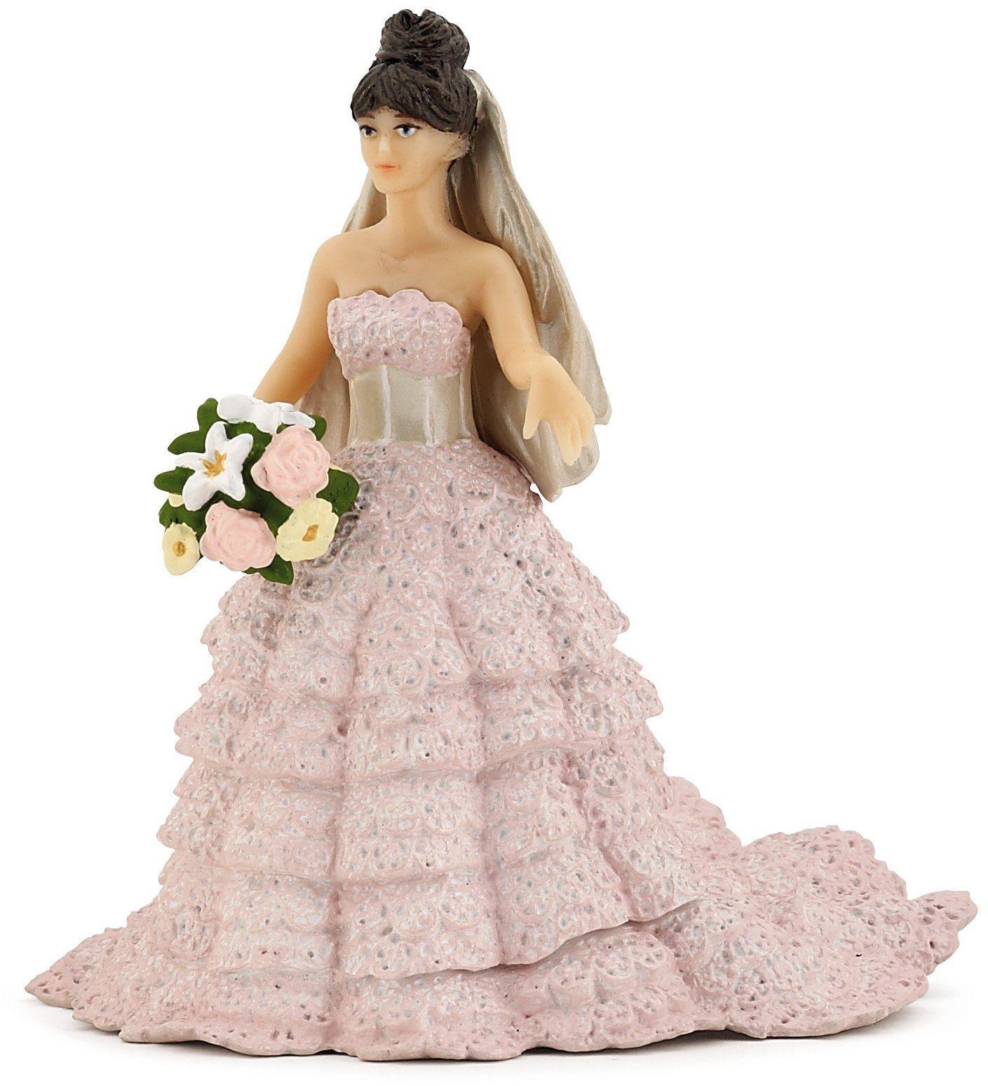 Papo Różowa koronka panna młoda