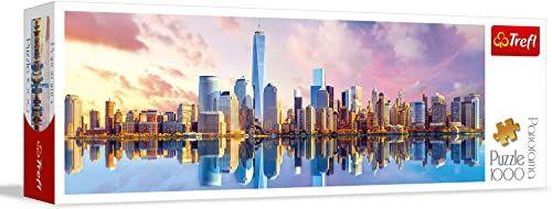 Trefl Manhattan Puzzle Panoramiczne 1000 Elementów o Wysokiej Jakości Nadruku, od 12 lat