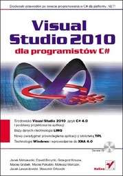 Visual Studio 2010 dla programistów C# - Ebook.