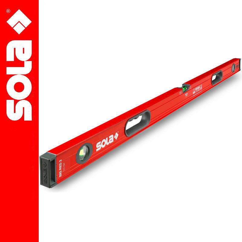 Poziomica aluminiowa 180cm BIG RED 3 SOLA