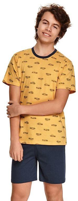 Piżama chłopięca Max żolta z