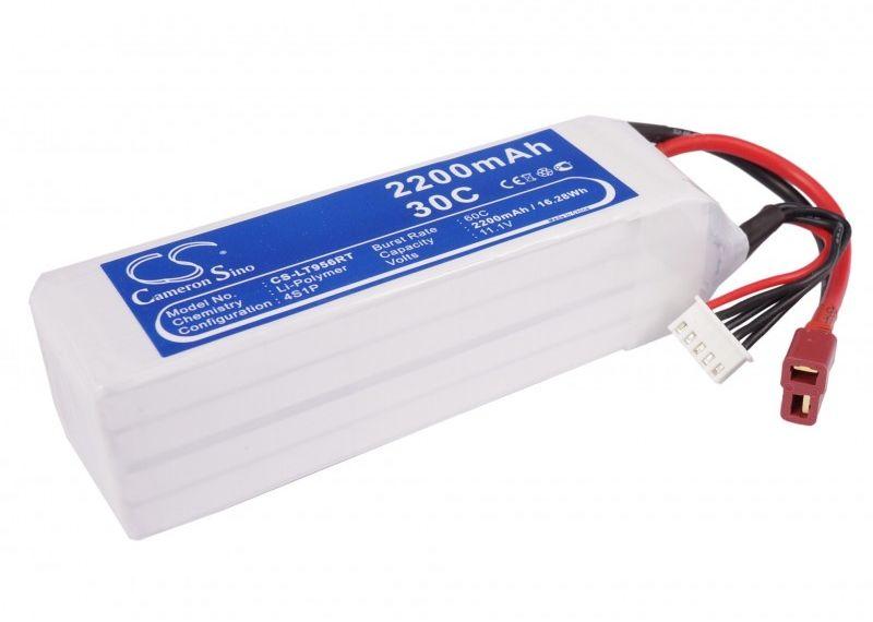 2200mAh 32.56Wh Li-Polymer 14.8V 3S 30C (Cameron Sino)