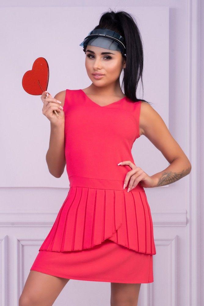 Nevre Raspberry sukienka
