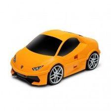 Lamborghini Huracan - pomarańczowy - Walizka samochód Welly Ridaz