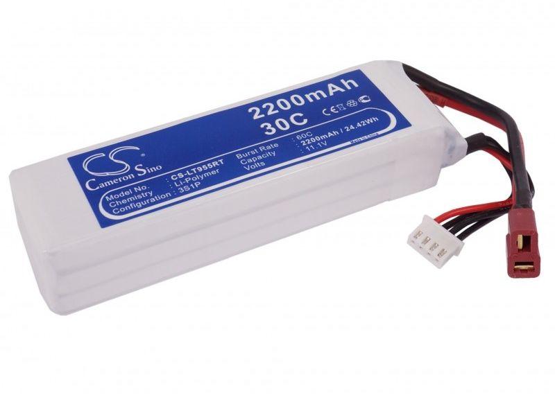 2200mAh 24.42Wh Li-Polymer 11.1V 3S 30C (Cameron Sino)