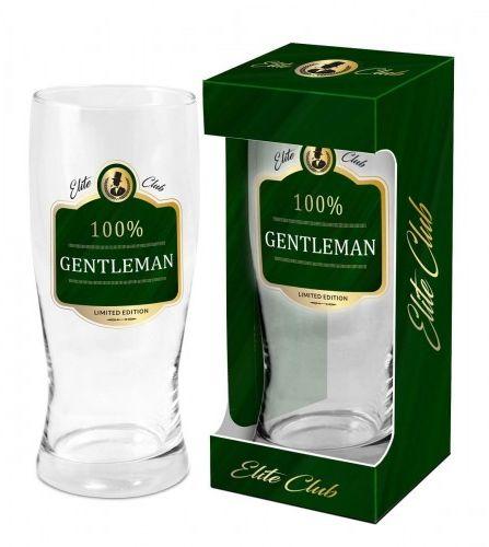 Szklanka do piwa 100% Gentleman, Ellite Club