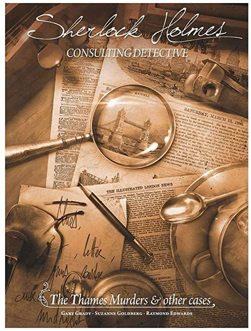 Space Cowboys - Sherlock Holmes Consulting Detective: The Thames Murders and Other Cases - Board Game
