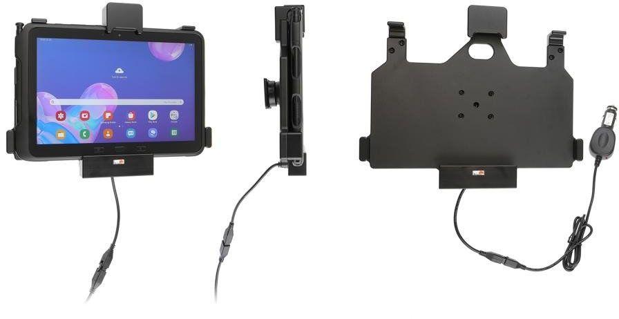 Uchwyt aktywny z blokadą sprężynową do Samsung Galaxy Tab Active Pro T540/T545/T547/T547U w oryginalnym futerale