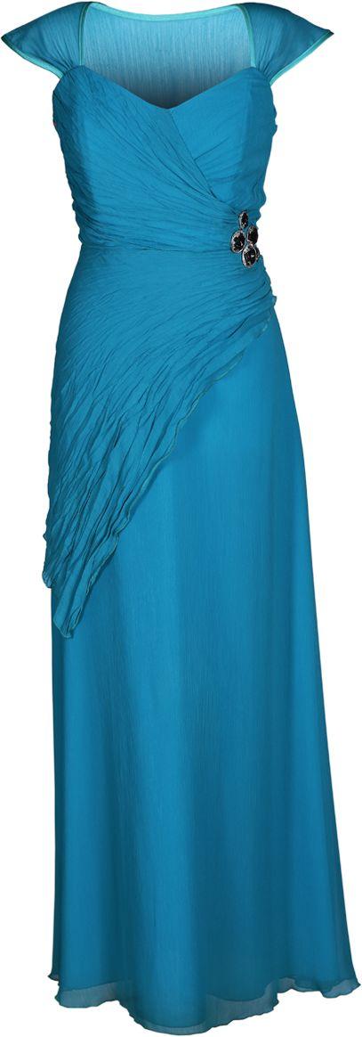 Sukienka FSU167 TURKUSOWY CIEMNY