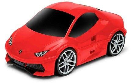 Lamborghini Huracan - czerwony - Walizka samochód Welly Ridaz
