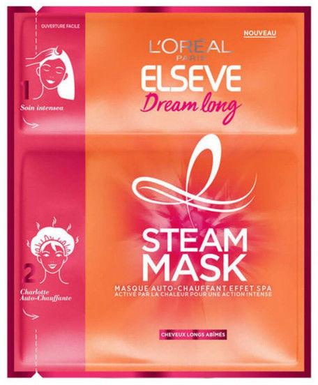 LOréal Paris Elseve Dream Long Steam Mask maseczka nawilżająco - odżywcza dla długich włosów 20 ml