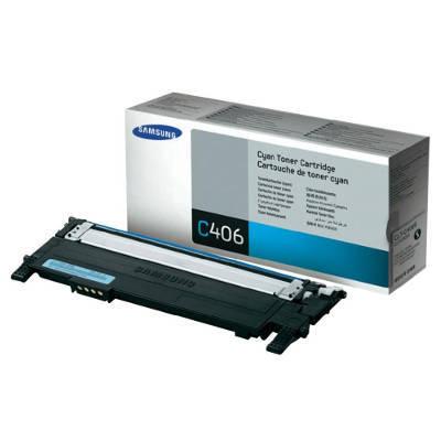 Toner Oryginalny Samsung CLT-C406S (ST984A) (Błękitny) - DARMOWA DOSTAWA w 24h