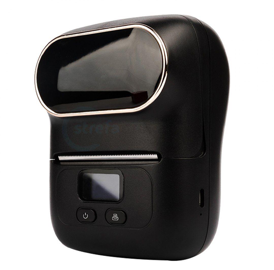 Drukarka etykiet BeMark PL M110 Pocket Labeler 203 DPI szer. do 50 mm + etykiety 40mmx30mm - obsługa Bluetooth