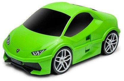 Lamborghini Huracan - zielony - Walizka samochód Welly Ridaz