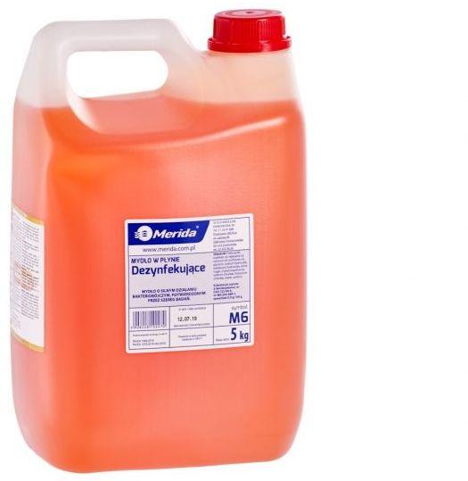 Mydło w płynie dezynfekujące 5 kg