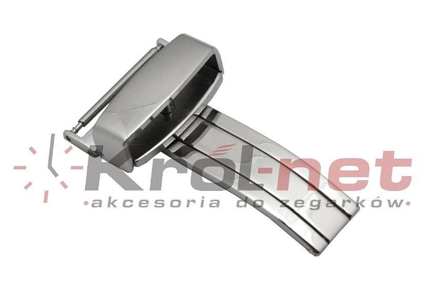 Zapięcie klamrowe - stalowe, polerowane 14mm