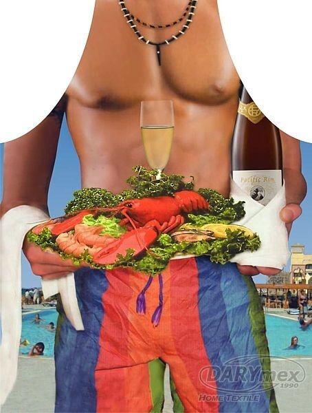 Fartuch kuchenny Mężczyzna Hawajski 40 Darymex