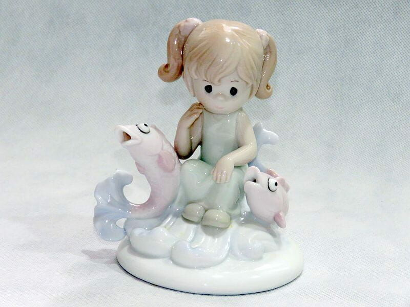 Summer P., figurka porcelanowa Znak Zodiaku - Ryby