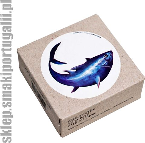 Portugalskie pate z tuńczyka 75g Jose Gourmet