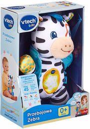 Trefl VTech Przebojowa Zebra Elektroniczna Zabawka Edukacyjna dla Dzieci od 0 miesięcy