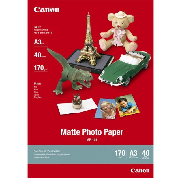 Canon Matte Photo Paper MP-101 170 g/m2 40ark. (A3) (7981A008)