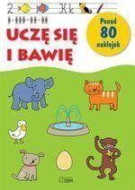 Uczę się i bawię ponad 80 naklejek - Daria Brzezińska