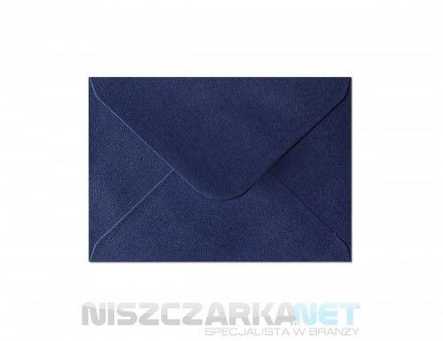 Koperta / koperty ozdobne C6 - opk 10szt 150g/m2 GRANATOWY PERŁOWY