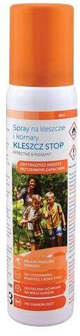 Spray na kleszcze i komary KLESZCZ STOP - 100 ml