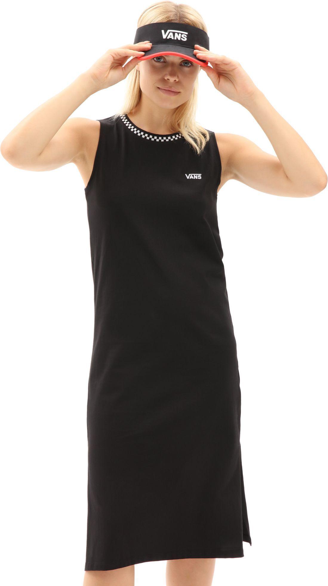 sukienka damska VANS KALIE TANK MIDI DRESS Black