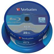 Verbatim BluRay BD-R 25 GB x6 10 szt. Do nadruku SINGLE LAYER DATALIFE