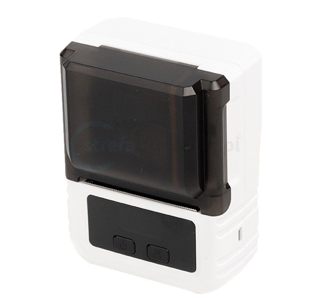 Drukarka etykiet BeMark PL M120 Pocket Labeler 203 DPI szer. do 50 mm + etykiety 40mmx30mm - obsługa Bluetooth