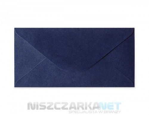 Koperta / koperty ozdobne DL - opk 10szt 150g/m2 GRANATOWY PERŁOWY