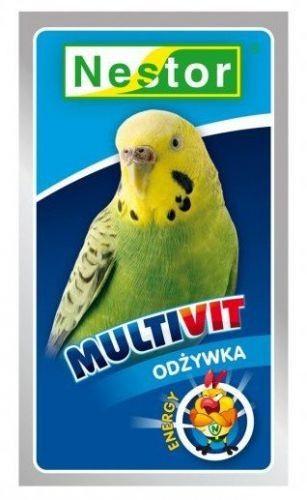 Nestor Nestor Odżywka dla małych papug Multivit