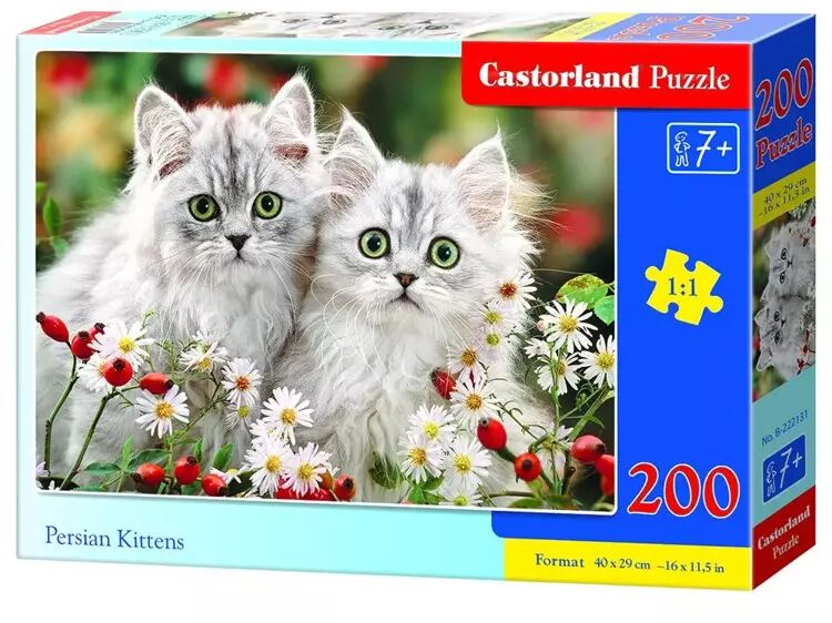 Puzzle 200 Persian Kittens CASTOR - Castorland