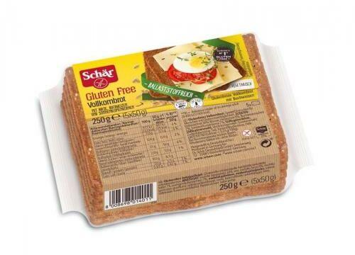 Chleb razowy Vollkornbrot 250g, Schar