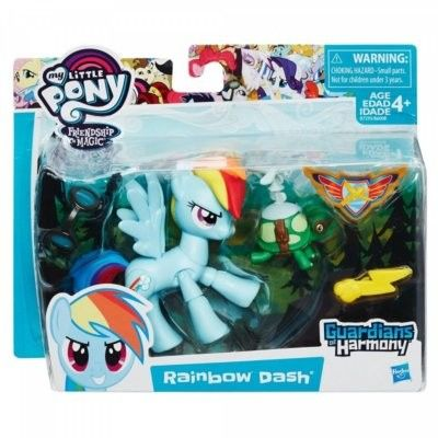 My Little Pony - Guardians of Harmony figurka podstawowa Rainbow Dash B7295 B6008