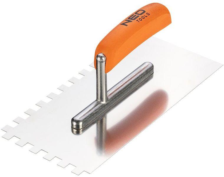 Paca z zębami 270x128mm ząb 10x10x10mm uchwyt drewniany 50-164