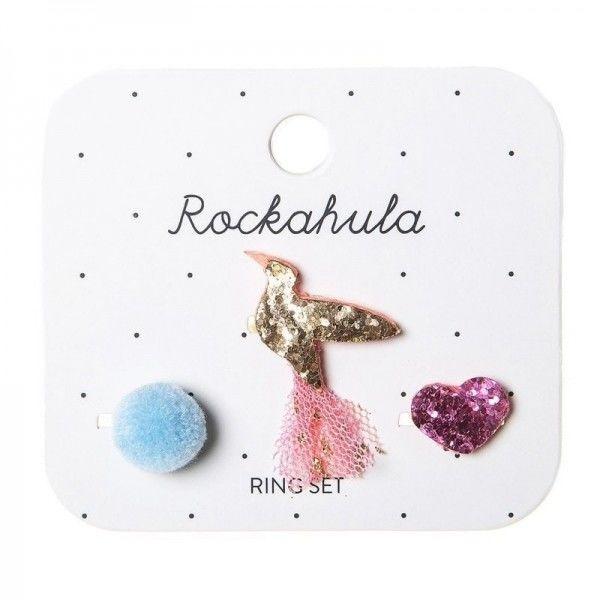Rockahula Kids - Zestaw Pierścionków Koliberek