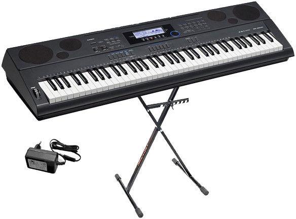 Casio WK-6600 keyboard + statyw - Raty 30x0%!