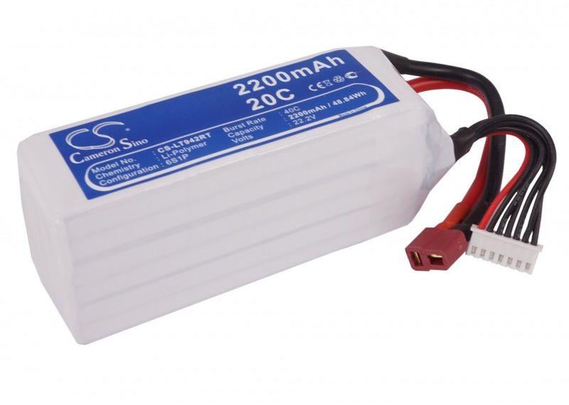 2200mAh 48.84Wh Li-Polymer 22.2V 6S 20C (Cameron Sino)