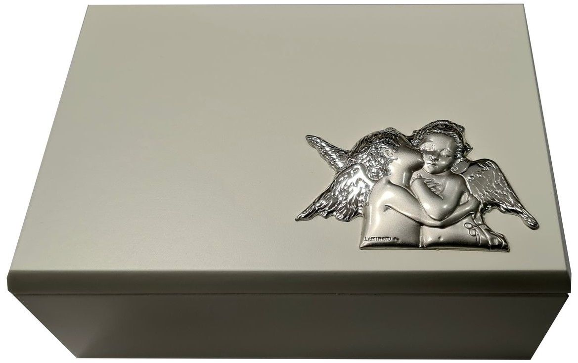 Szkatułka z emblematem amorki Rozmiar: 9x13x5 cm SKU: F55-49