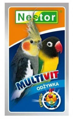Nestor Nestor Odżywka dla średnich papug Multivit