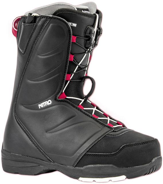 Nitro FLORA TLS black damskie buty snowboardowe - 38EUR